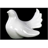 Benzara Ceramic Pigeon Small - White