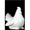 Ceramic Chicken Gloss White - White