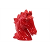 Berlin's Attractive Ceramic Horse Head Red