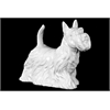 Ceramic Large Standing Scottish Terrier Dog
