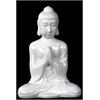Ceramic Meditating Buddha With Añjali Mudra