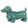 Ceramic Dog Turquoise