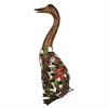 Benzara Supreme Metal Duck Decor With Stones