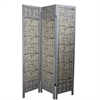 Benzara Fascinating Paulownia Room Divider