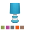 Benzara Fantastic Ceramic Lamp In 6 Assorted Colors