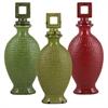 Benzara Set Of 3 Assorted Elegant Chinese Ceramic Jars