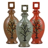 Benzara Set Of 3 Assorted Incredible Ceramic Jars