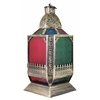 Benzara Attractive Metal Lantern Antique Copper