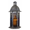 Benzara Decorative Customary Styled Metal Lantern