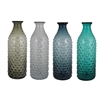 Benzara Assorted Set Of 4 Enthralling Glass Vase