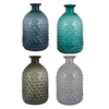 Benzara Assorted Set Of 4 Captivating Glass Vase