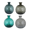 Benzara Assorted Set Of 4 Charming Glass Vase
