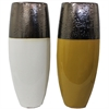 Elegant Ceramic Vase - 2 Assorted, White, black