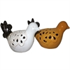 Chic Ceramic Bird-  2 Assorted, Black, white, yellow