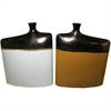 Amazing Ceramic Vase- 2 Assorted, Yellow, White, Black