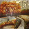 Charismatic Canvas Oil Painting, Multicolor