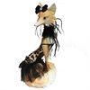 Elegant Fox Figurine, Multicolor