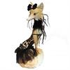 Elegant Fox Figurine, Multicolor