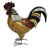 Designer Rooster Figurine, Multicolor