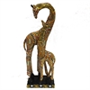 Stylish Giraffe Figurine, Multicolor