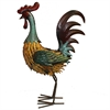 Adorable Metal Rooster, Multicolor