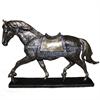 Classy Horse - Seashell Polyresin, Royal Blue