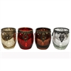 Gorgeous T-Light Holder- 4 Assorted, Silver, Golden, Red