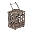 Benzara Creative And Artistic Wood Lantern