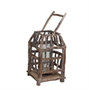 Benzara Beautiful And Standout Wood Lantern
