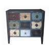 Benzara Stylish And Vintage Themed Wood Dresser Cabinet