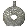 Benzara Fine-Looking Seashell Encrust Vase