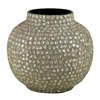 Benzara Appealing Mother Of Pearl Encrusted Vase