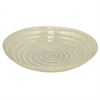 "Benzara 14.5"" Golden Glass Votive Bowl, Gold"