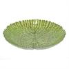 "Benzara 13"" Green Glass Votive Bowl, Green"