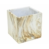 Benzara Contemporary Styled Stone Look Flower Pot