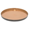 "Benzara 17"" Aluminium Tray, Antique Gold"