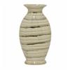 Sparkling Ceramic Vase - Gold/Ivory