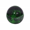 Benzara Small Glass Orb- Green