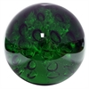 Benzara 23454 Green Large Glass Orb, Green