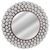 Benzara Mini Circle Frames Wall Mirror