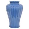 """Benzara 12"""" Blue Ceramic Vase, Blue"""