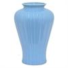 "Benzara 12"" Sky Blue Ceramic Vase, Sky Blue"