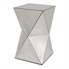 Benzara Classy Mirrored Side Table