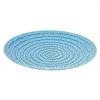 "Benzara 34426 16"" Blue Ceramic Plate, Blue"