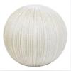 "Benzara 10.5"" Ivory Ceramic Orb, Ivory"
