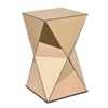 Benzara Outstanding Mirrored Accent Table