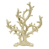 Benzara Attractively Styled Resin Coral Tabletop