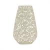 """Benzara 20"""" Ivory Ceramic Vase, Ivory"""