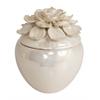 Benzara Beautiful Pretty Flower Ceramic Box