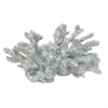 "Benzara 37578 6"" decorative Coral, Silver"